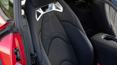 Toyota Supra coupe sports seats