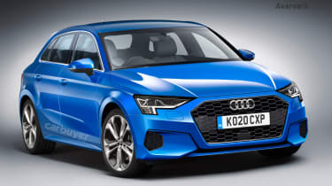 Audi A3 render
