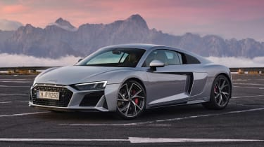 2020 Audi R8 RWD Coupe - front 3/4 static view