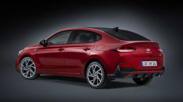 2020 Hyundai i30 Fastback rear