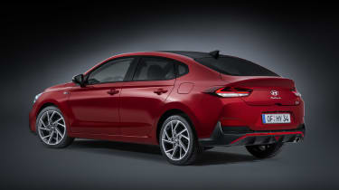 2020 Hyundai i30 Fastback rear