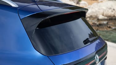 Volkswagen T-Cross 2019 rear spoiler