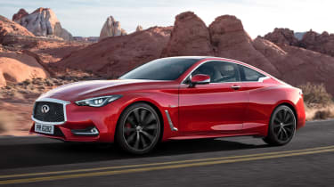 The Infiniti Q60 is a handsome left-field alternative to the Mercedes C-Class Coupe and BMW 4 Series