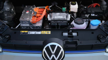 2019 Volkswagen e-up! hatchback - batteries and electric motors