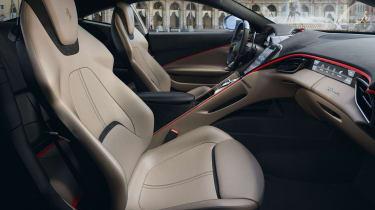Ferrari Roma coupe front seats