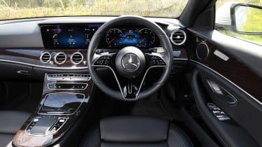 Mercedes E-Class saloon interior