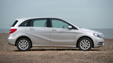 A taller roofline than the A-Class provides impressive rear legroom and headroom