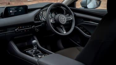 Mazda3 Fastback saloon interior