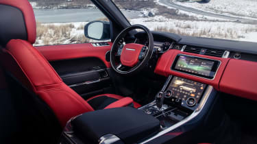 Range Rover Sport HST special edition interior side