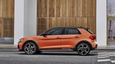 Audi A1 Citycarver side view