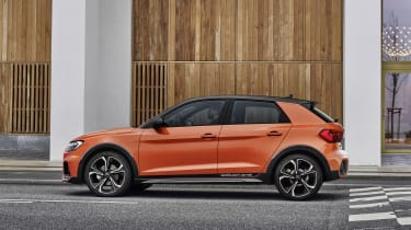 Audi A1 Citycarver side view