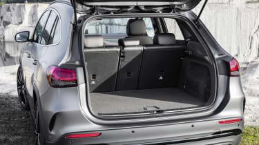 Mercedes GLA boot - seats up