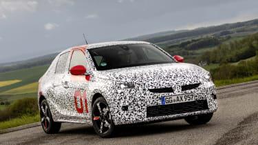 Vauxhall Corsa prototype - three quarter static