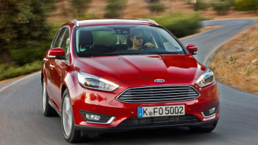 Trim levels start with Style, which includes Bluetooth and air-conditioning, while Zetec adds the touchscreen