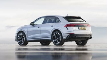 Audi RS Q8 SUV - rear 3/4 static