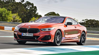 BMW 8 Series front