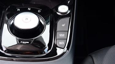 Kia Soul EV hatchback controls