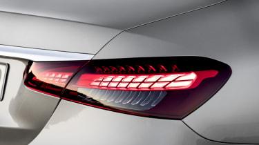Mercedes E-Class - tail lights