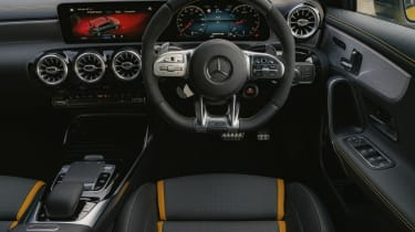 Mercedes-AMG A 45 S hatchback - interior/dashboard view