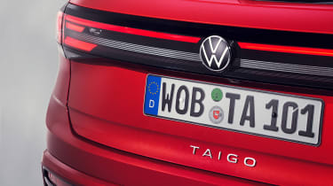 2021 Volkswagen Taigo coupe-SUV.