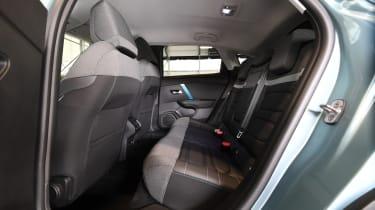 2021 Citroen e-C4 - rear seats