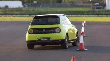 2019 Honda e prototype - rear dynamic