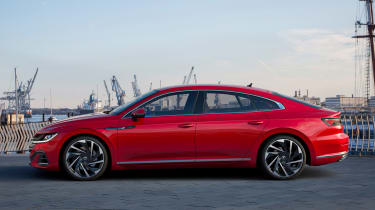 2020 Volkswagen Arteon hatchback - side view