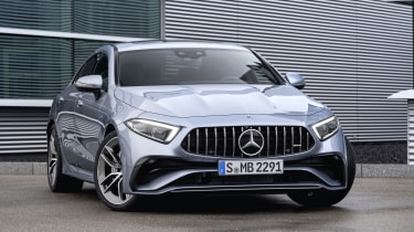 2021 Mercedes CLS AMG 53 - front 3/4 static