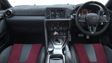 Nissan GT-R Nismo coupe interior