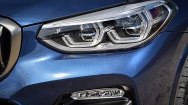 BMW X3 headlight