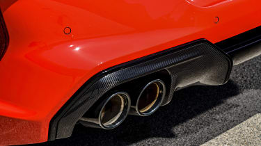 BMW M8 Competition coupe rear diffuser