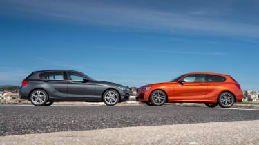 The 1 Series is also available as a high-performance M140i hot hatch