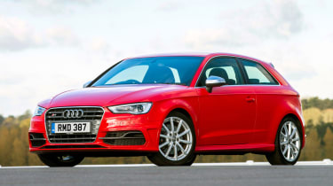 This is particularly evident inside, where the A3 has arguably the nicest cabin quality in its class