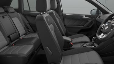 Volkswagen Tiguan R-Line Tech interior