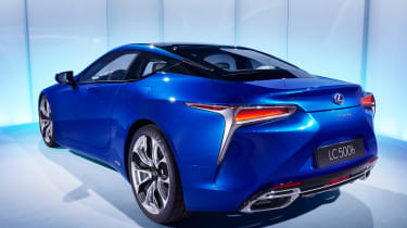 ...with a 3.5-litre V6 petrol engine and electric motors