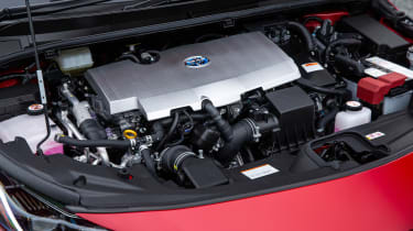 Toyota Prius Plug-in Hybrid hatchback engine bay