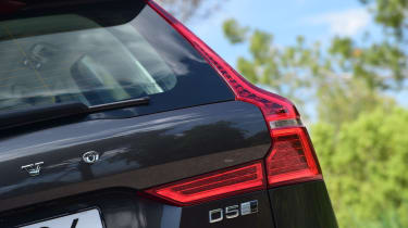 Volvo's classic vertical rear lights have also been given a new twist, along with LED illumination