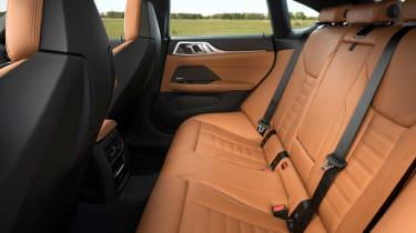 New BMW 4 Series Gran Coupe M440i xDrive - rear seats