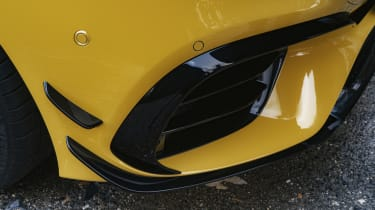 Mercedes-AMG A 45 S hatchback - front diffuser close up