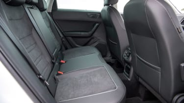 SEAT Ateca SUV rear seats