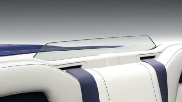Lexus LC500 Convertible wind deflector