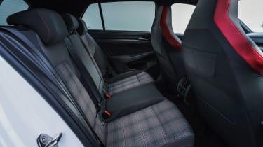 Volkswagen Golf GTI hatchback rear seats