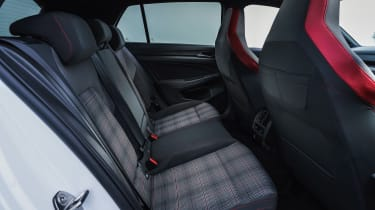 Volkswagen Golf GTI hatchback rear seats