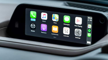 Mazda CX-30 SUV Apple CarPlay