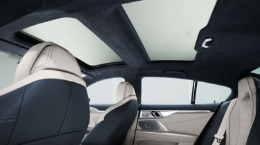 BMW 8 Series Gran Coupe - glass roof