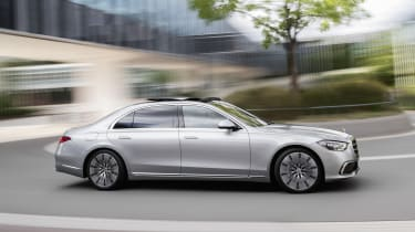 2020 Mercedes S-Class - cornering view