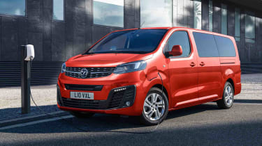 Vauxhall Vivaro-e Life charging