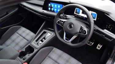 Volkswagen Golf GTE hatchback steering wheel