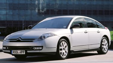 A classic large Citroen for the modern age, the C6 had bold styling and smooth hydropneumatic suspension.