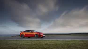 ...which will be Jaguar's rival to the BMW M3 and Mercedes-AMG C63